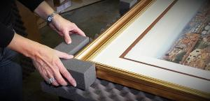 Your fine art reproductions carefully packaged