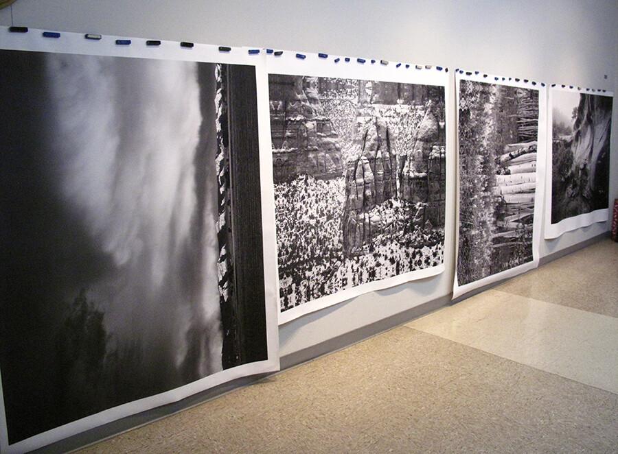Large BW Canvas Prints