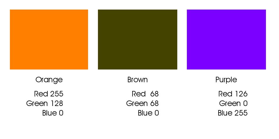 Intermediate color builds